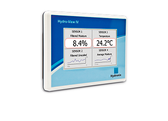 Hydro-View IV - Display, Calibration and Configuration unit for Hydronix sensors